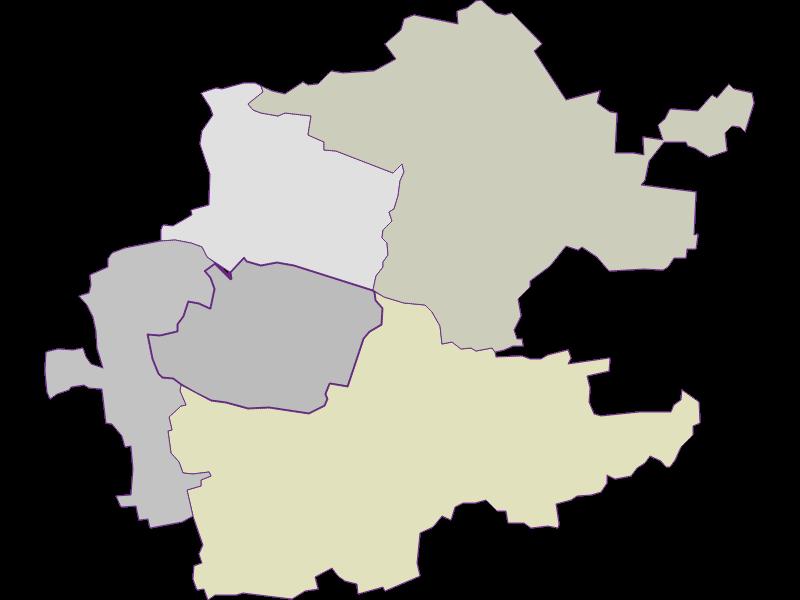 Farmers (comparison to federal state) in Inzersdorf-Getzersdorf