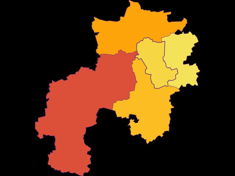 Плотность населения в Kapelln
