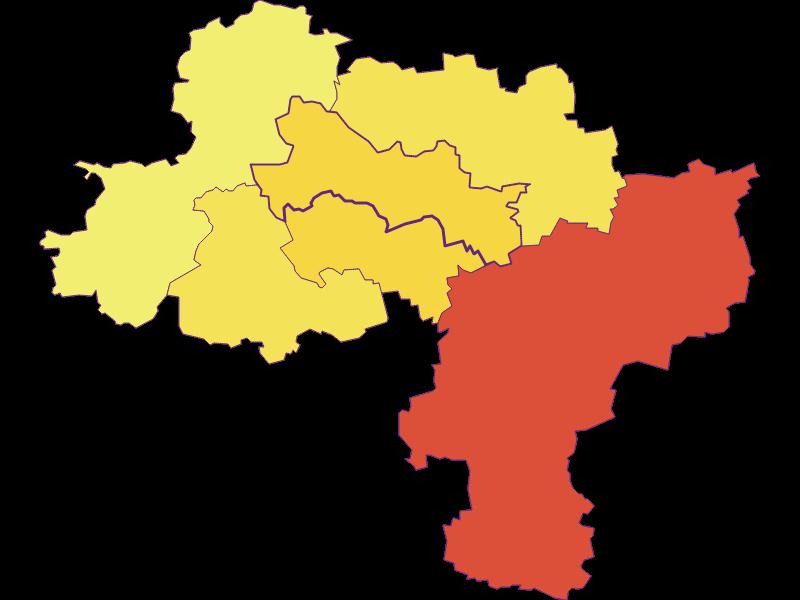 Population density in Karlstetten