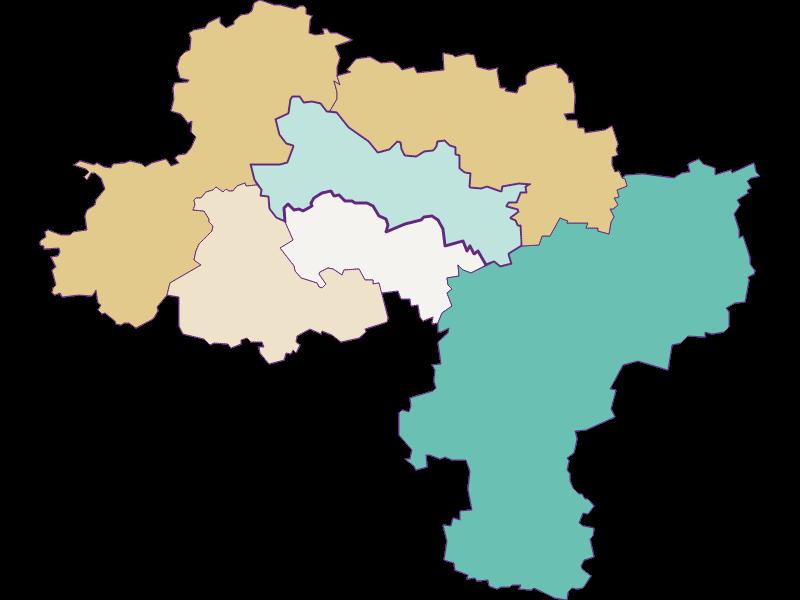 Population development since 1900 in Karlstetten