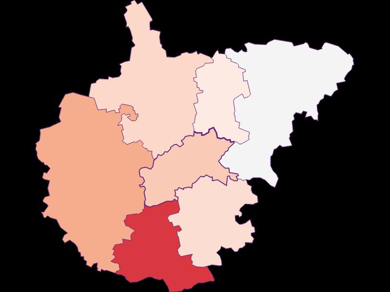 Activity rate in Kasten bei Böheimkirchen