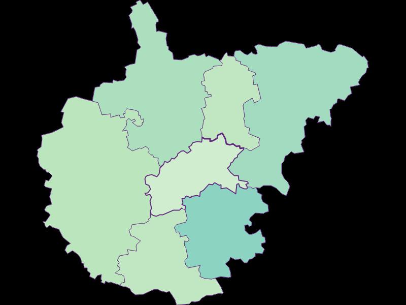 Share of foreigners in Kasten bei Böheimkirchen