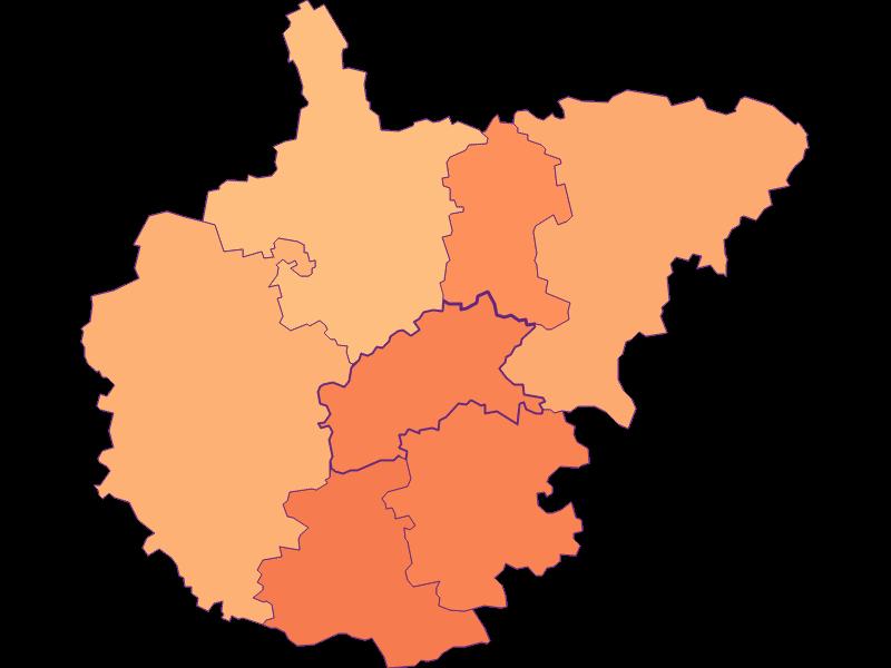 Household size in Kasten bei Böheimkirchen