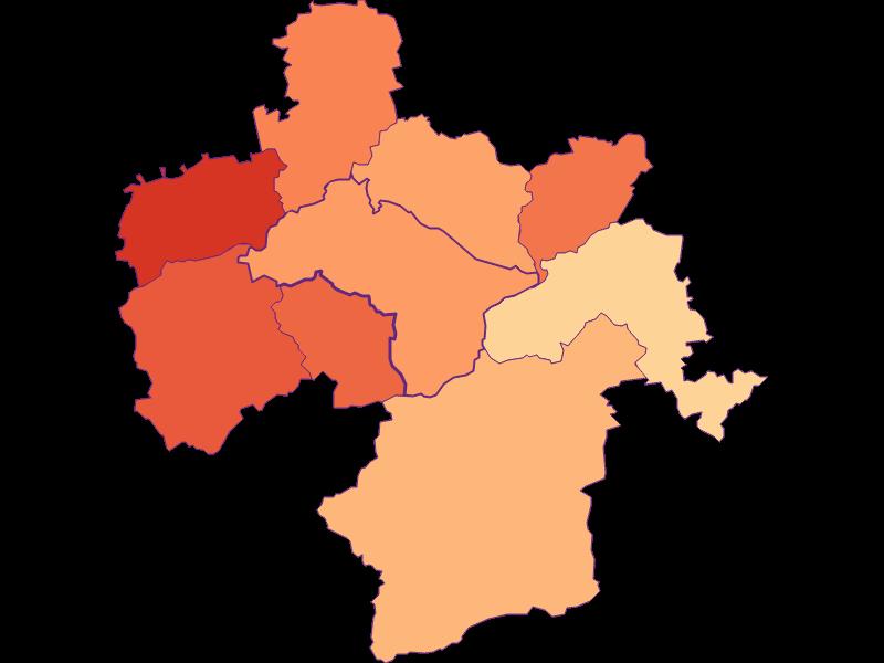 Размер домохозяйства в Kirchberg an der Pielach