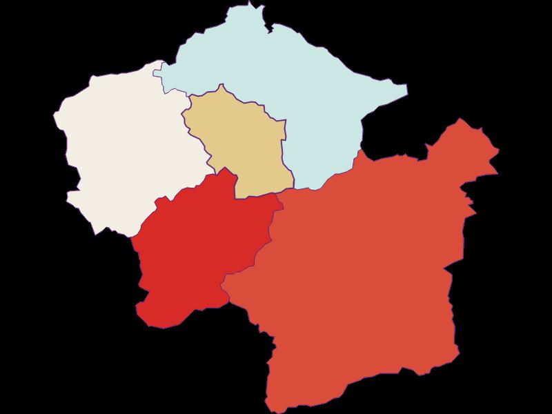 Population development since 1869 in Loich