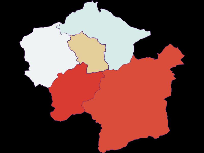 Population development since 1900 in Loich