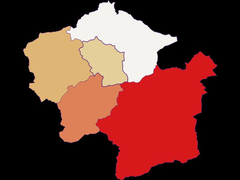 Population development since 2011 in Loich