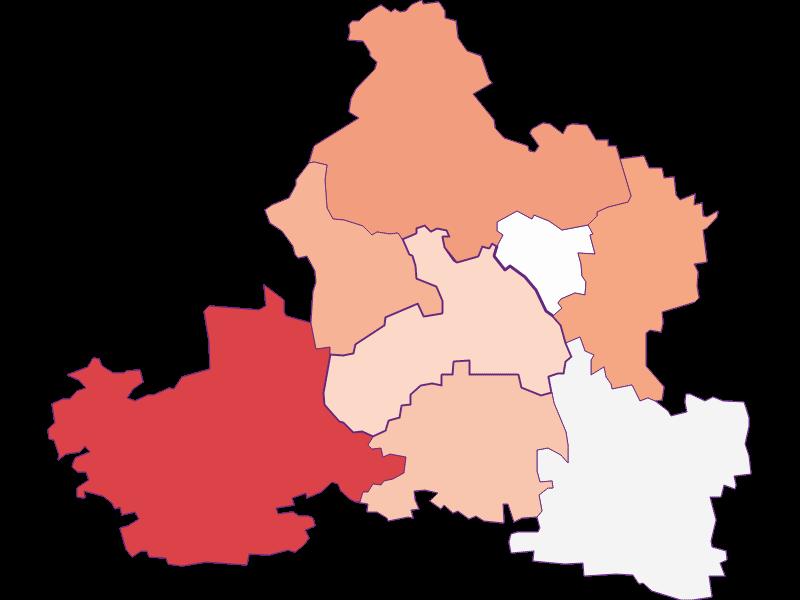 Activity rate in Markersdorf-Haindorf