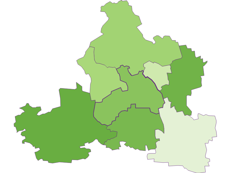 Settlement in Markersdorf-Haindorf