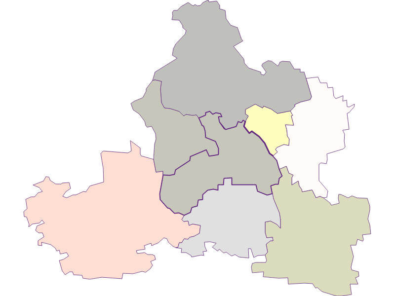 Farmers (comparison to federal state) in Markersdorf-Haindorf
