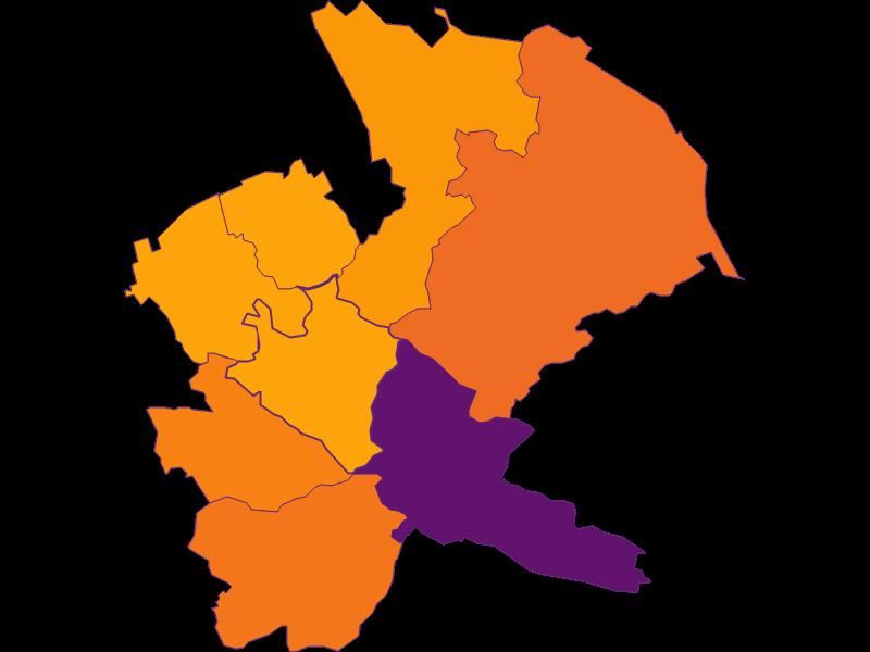 Плотность населения в Mauerbach