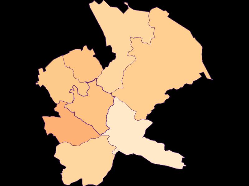 Размер домохозяйства в Mauerbach