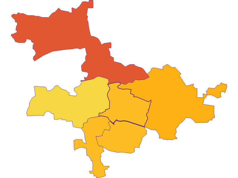 Плотность населения в Nußdorf ob der Traisen