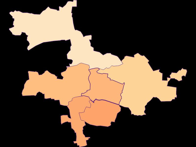 Размер домохозяйства в Nußdorf ob der Traisen
