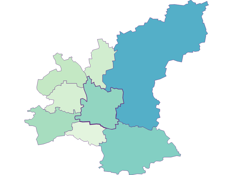 Share of foreigners in Ober-Grafendorf