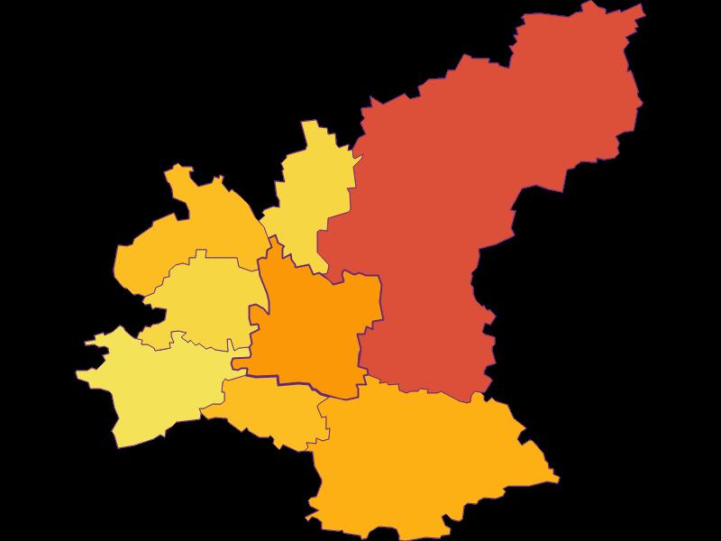 Population density in Ober-Grafendorf