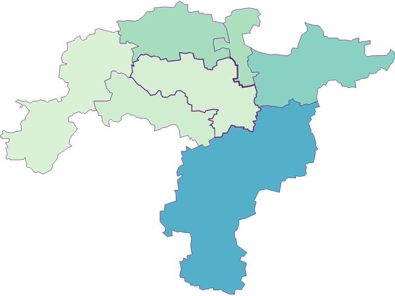 Share of foreigners in Obritzberg-Rust