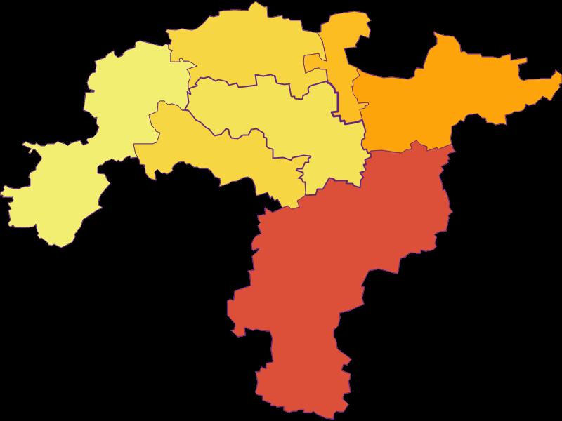 Population density in Obritzberg-Rust