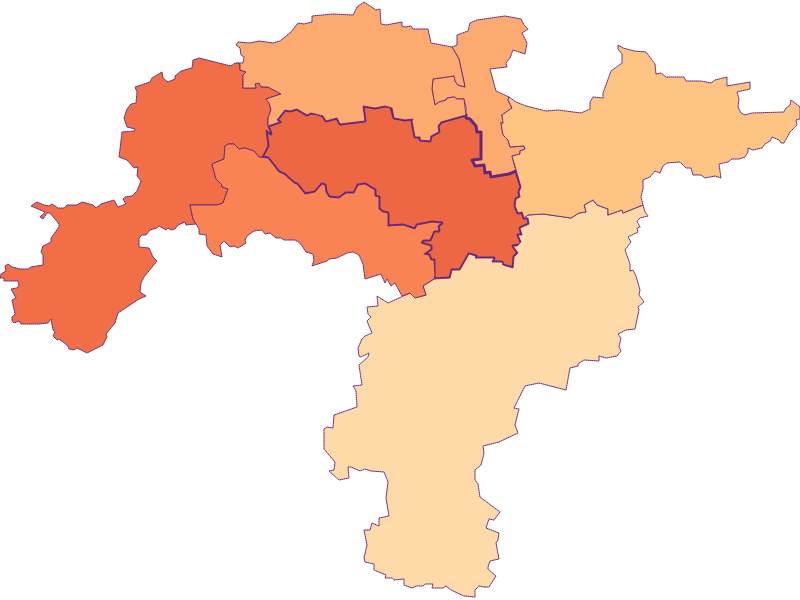 Household size in Obritzberg-Rust