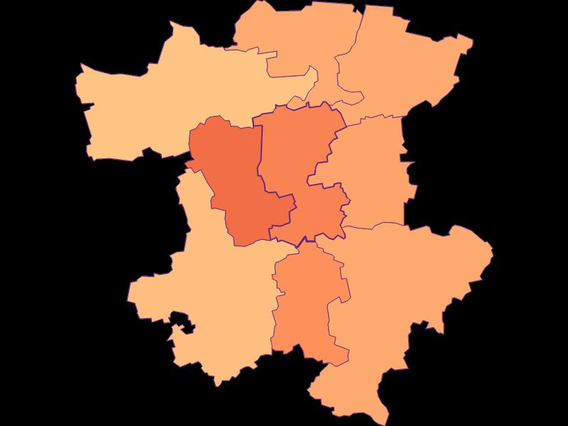 Размер домохозяйства в Perschling
