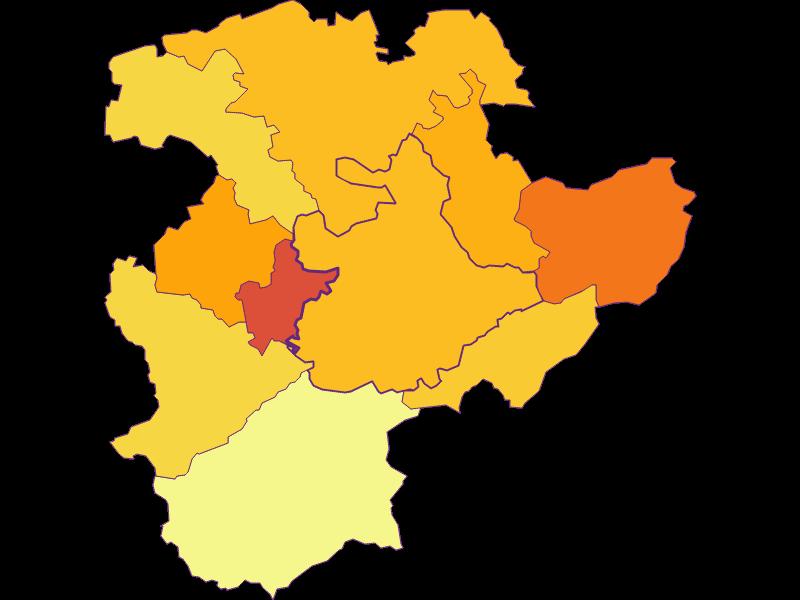 Population density in Pressbaum