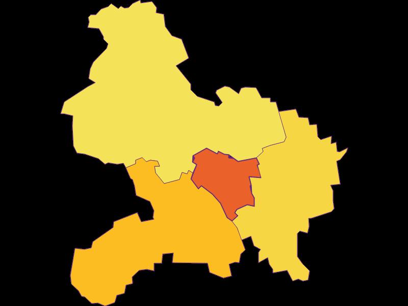 Плотность населения в Prinzersdorf