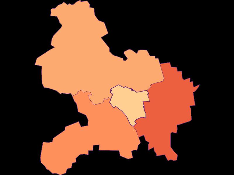 Размер домохозяйства в Prinzersdorf
