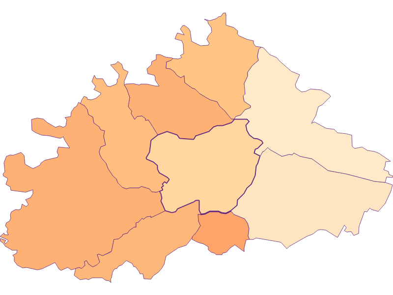 Household size in Purkersdorf