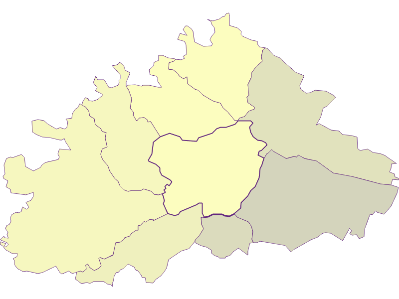 Farmers (comparison to federal state) in Purkersdorf