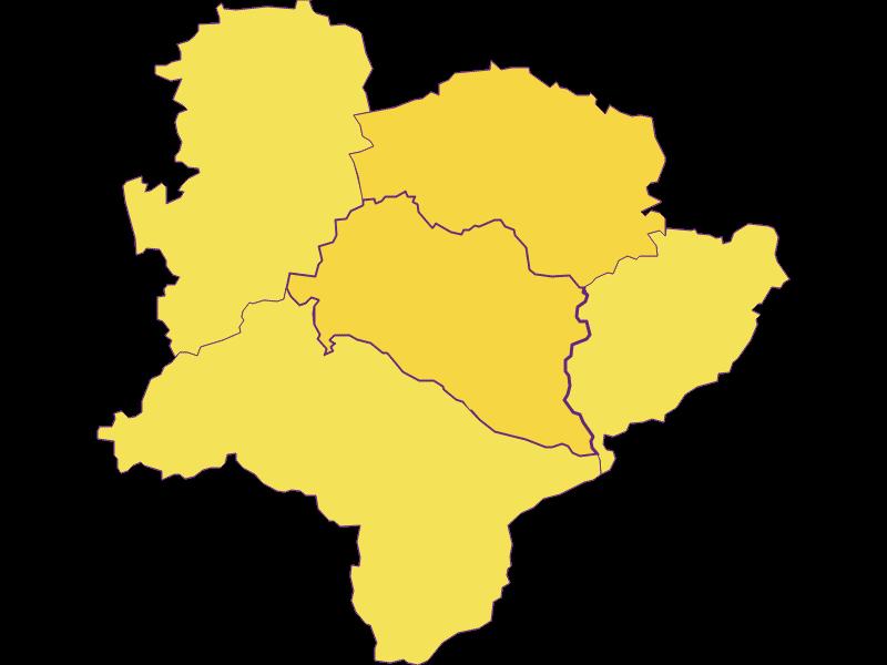 Плотность населения в Rabenstein an der Pielach