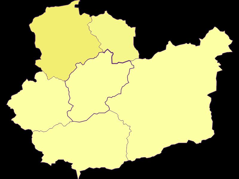 Плотность населения в Schwarzenbach an der Pielach