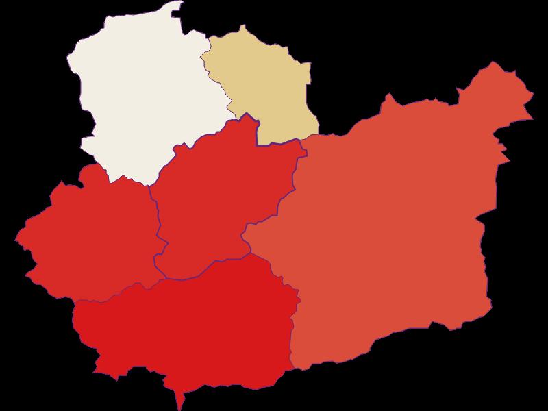 Демография с 1869 года в Schwarzenbach an der Pielach