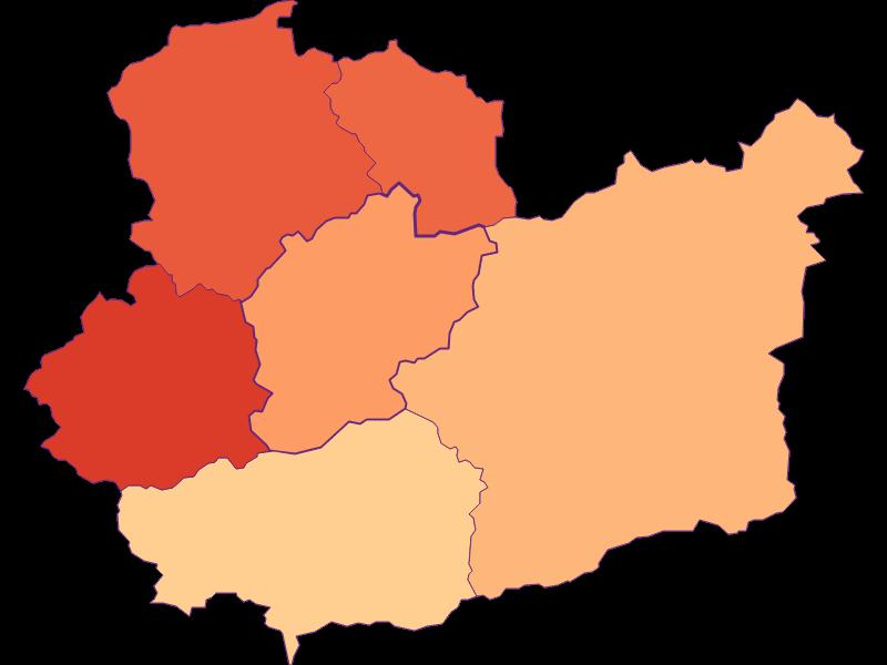 Размер домохозяйства в Schwarzenbach an der Pielach