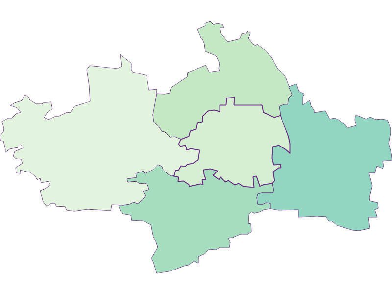 Share of foreigners in St. Margarethen an der Sierning