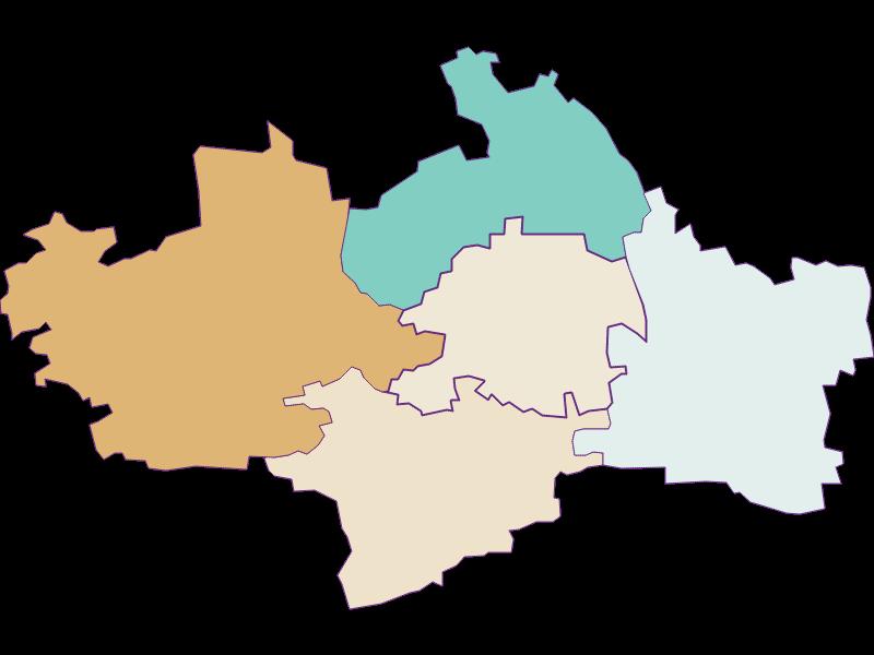 Population development since 1900 in St. Margarethen an der Sierning