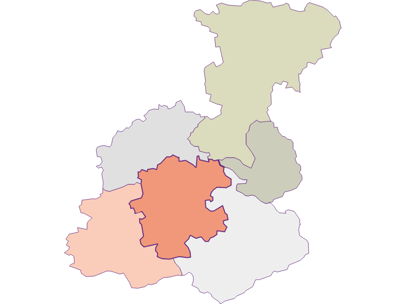 Farmers (comparison to federal state) in Stössing
