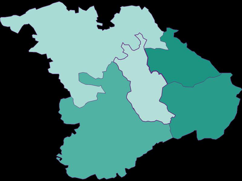 Population development since 1900 in Tullnerbach