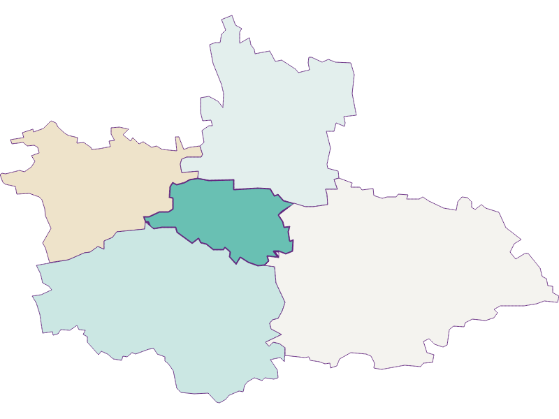 Population development since 1900 in Weinburg