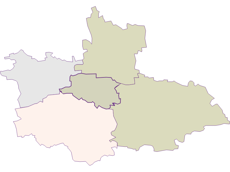 Farmers (comparison to federal state) in Weinburg