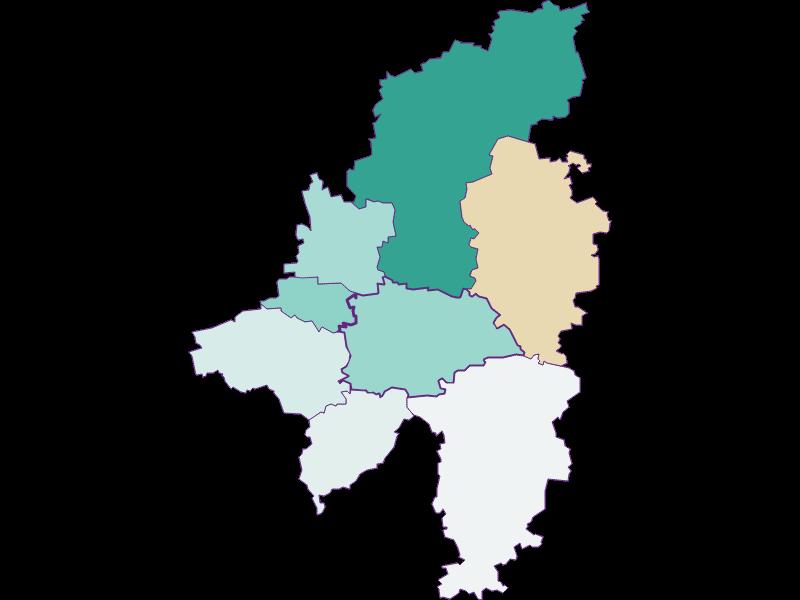 Population development 1869-2018 | Wilhelmsburg