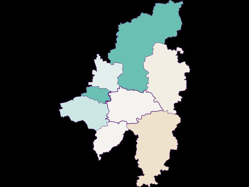 Population development since 1900 in Wilhelmsburg