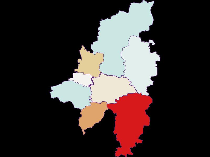 Population development since 2011 in Wilhelmsburg