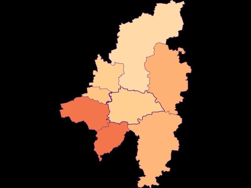 Household size in Wilhelmsburg