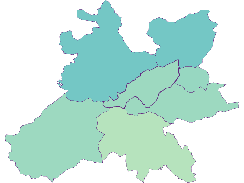 Доля иностранцев в Wolfsgraben