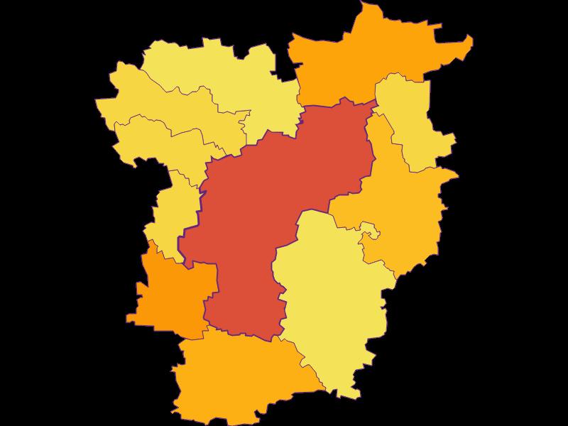 Плотность населения   St. Pölten