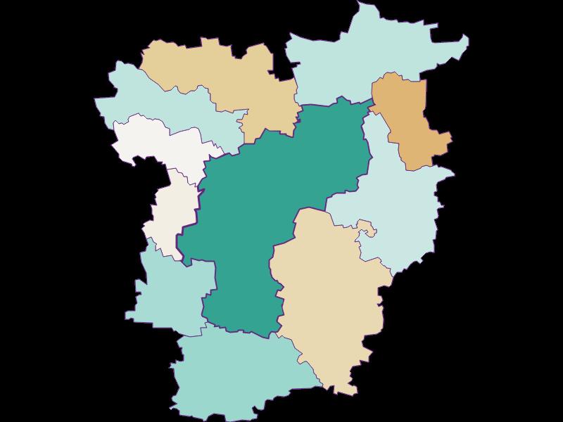 Прирост населения за 1869-2018   St. Pölten