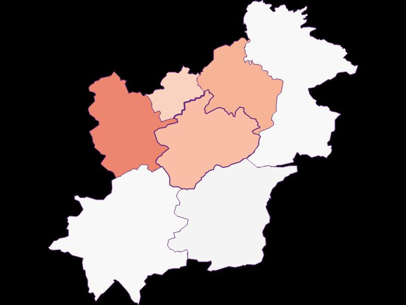 Activity rate in Göstling an der Ybbs