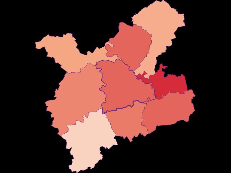 Activity rate in Oberndorf an der Melk
