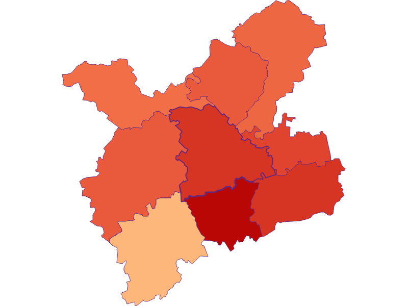 Household size in Oberndorf an der Melk