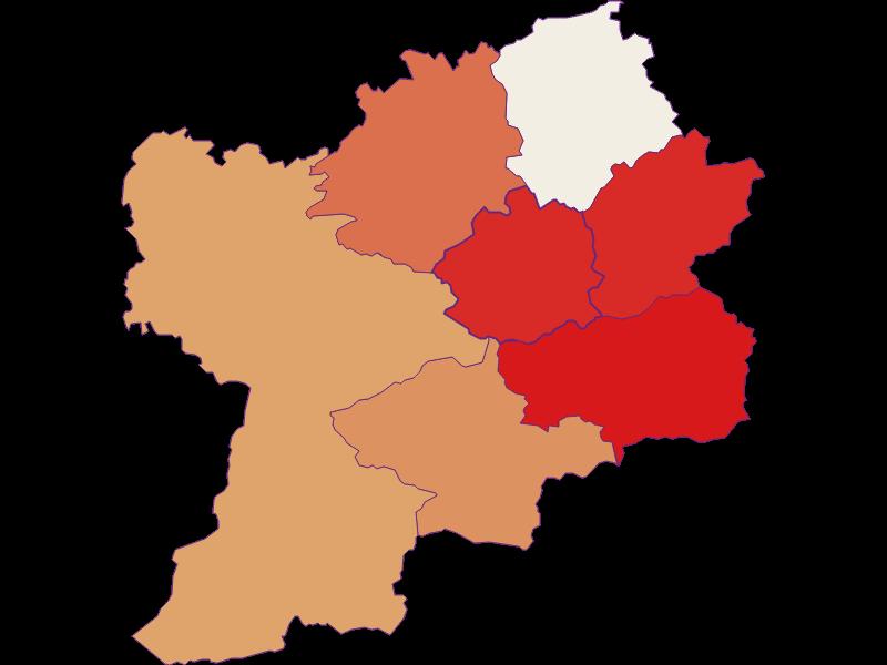 Population development since 1869 in Puchenstuben